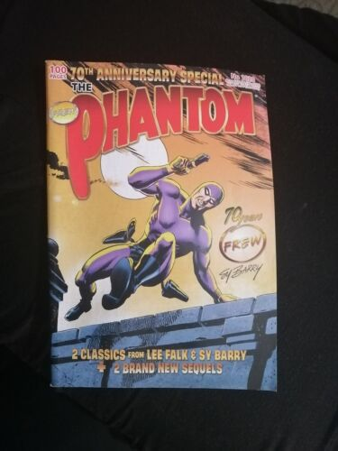 Frew The Phantom 70th Anniversary special! issue No 1820 Sy Barry 100 pages!