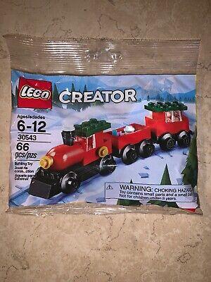 2018 Lego Creator Christmas Train66 pc polybag. 30543 New Sealed.