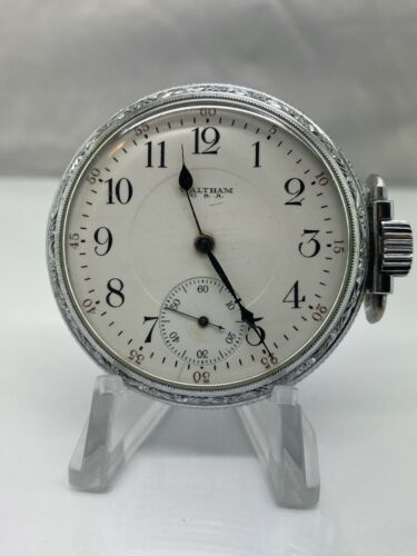 1919 Waltham P.S. Bartlett Model 1908 16S 17J Pocket Watch WITH VIDEO
