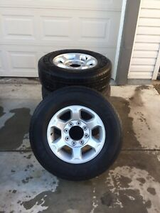 F350/250 OEM Rims, TPMS, and Tires, Super Duty