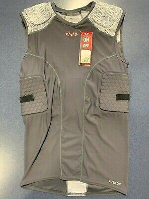 McDavid Classic Logo 757 CL Thudd Pad Shorts Scarlet XL
