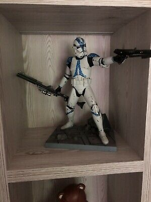 Star Wars Clone Trooper Lieutenant Statue Not Hot Toys Kotobukiya ArtFX