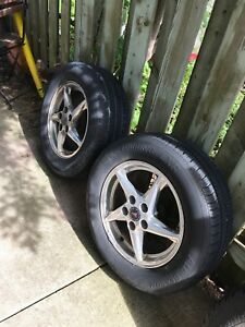 * SET OF RIMS*  225 60 R16