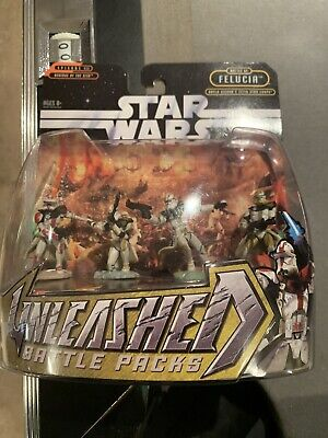 STAR WARS UNLEASHED BATTLE PACKS FELUCIA AAYLA SECURA'S 327TH STAR CORPS ROTS