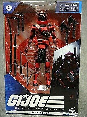 G I Joe Classified NEW * Red Ninja * #08 Hasbro 6-Inch Action Figure