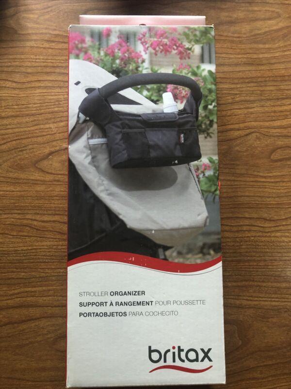 NIB Britax Black Stroller Organizer Bag Collapsible S09790900
