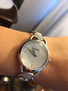 Woman Fossil watch