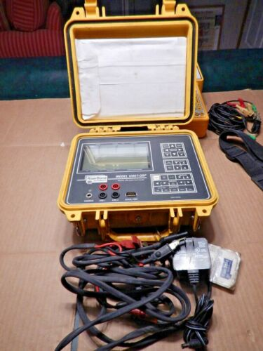 Riser Bond Dual Metallic TDR Cable Fault Locator Model:- 1205T-OSP NEW BATTERY