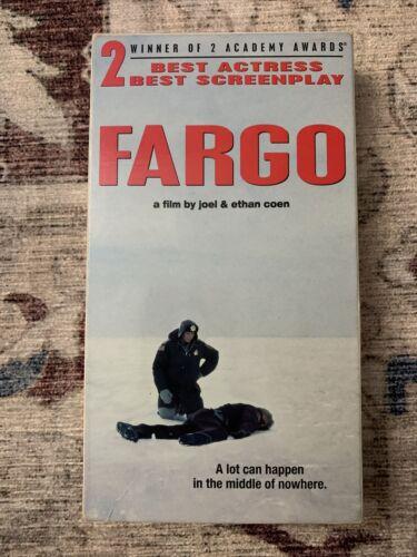 Fargo VHS, 1996  - $2.50
