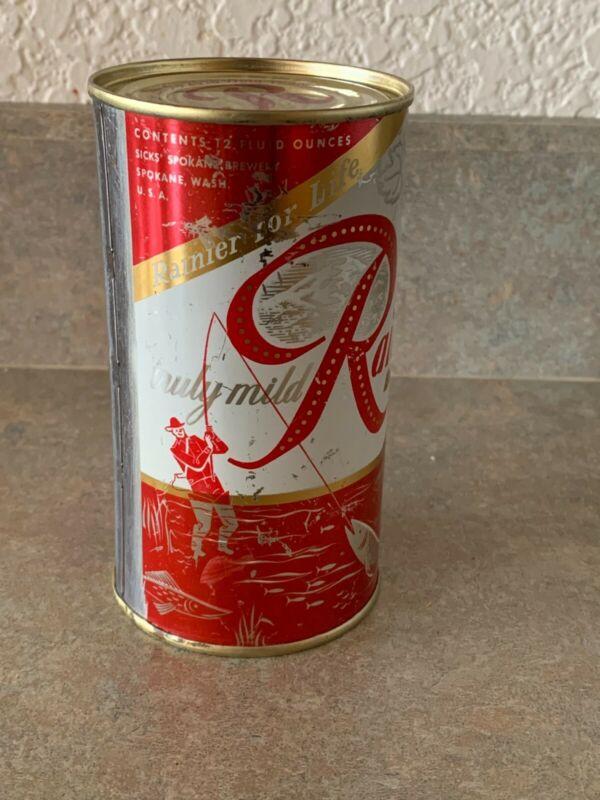 Rainier Flat Top Beer Can - Spokane, WA -NO CONTENTS-EMPTY