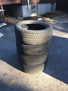 215/60r16 Firestone FR710 all season tires