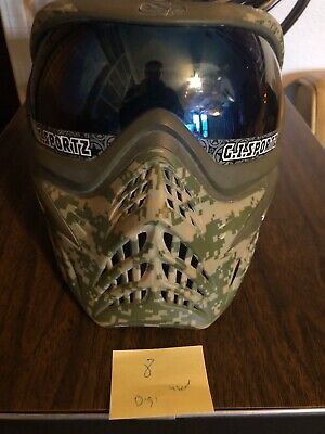 v force Grill paintball mask -