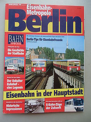 Bahn-Special 1/95 Eisenbahn-Metropole Berlin