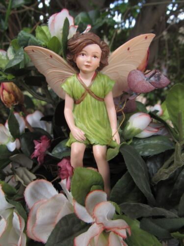 Cicely Mary Barker APPLE BLOSSOM Flower Fairy Ornament Figurine RETIRED!  #86950