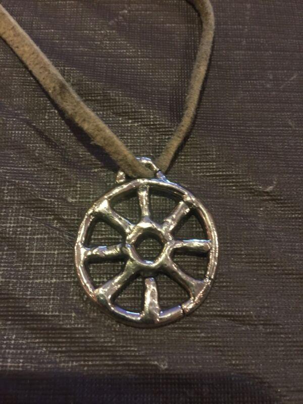 Bronze Age Sun Wheel Amulet