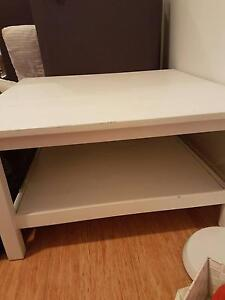 IKEA White Coffee Table Ryde Area Preview