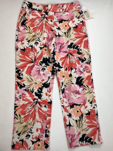 Liz Claiborne Audra Women's Size 12 Ankle Pants Springtime