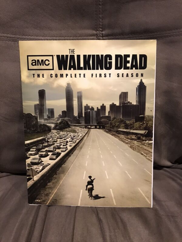 The Walking Dead Dvd/Blu-ray Promtional Booklet & Press Release  RARE