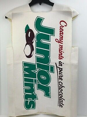 Junior Mints Kids Teen One Size Fits Most Halloween Costume Length 30