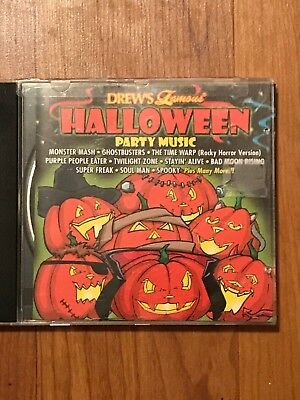 Halloween Party Music by Drew's Famous CD 1996 Super Freak Disco Monster Mash +