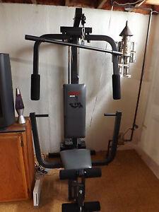 weider leg press machine