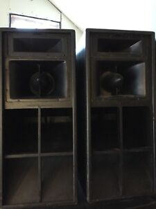 Turbosound Tms4's and Tse111's