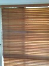 Timber Venetian blinds 240 cm wide by 130 drop Petrie Pine Rivers Area Preview