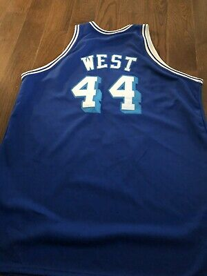 Hardwood Classics LA Lakers Jerry West NBA Basketball Jersey 1961 62 size XL