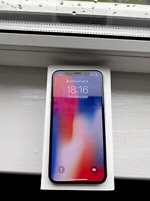 Apple MQAD2B/A iPhone X 64GB Unlocked Smartphone - Silver