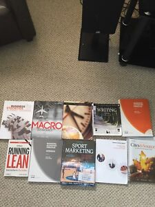 First and Second year Georgian College Business books