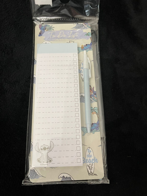 Primark Disney Lilo and Stitch To Do List with Pen