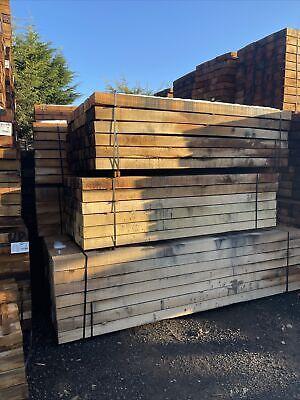 Oak Sleepers 3M LONG X 200MM X100MM FRENCH NEW OAK FRAME