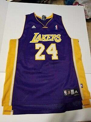 Adidas Kobe Bryant Swingman Jersey #24 SIZE LARGE L NBA LA Lakers Los Angeles