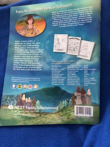 Bread From Heaven Resource And Activity Book Animated Stories From The New Testa - $1.25