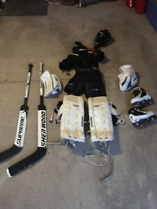 Complete youth goalie set