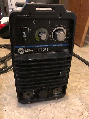 Miller Cst280 Portable Welder Single Or Three Phase Stick Tig Open To All Offers