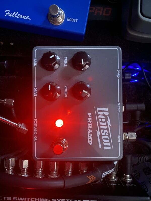 Benson Amps Preamp Pedal Excellent Condition