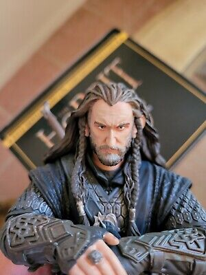 HOBBIT LORD OF THE RINGS Gentle Giant THORIN OAKENSHIELD BUST STATUE MINT