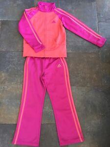 Adidas Track Suit, Girls Sz 5