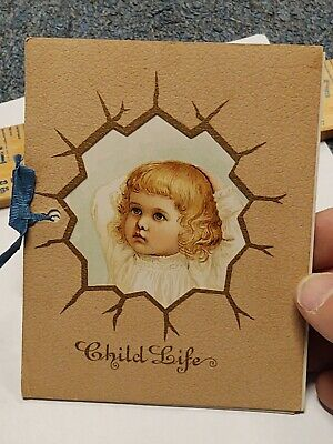 1893 The Hartford Fire Insurance - Child's Life Booklet