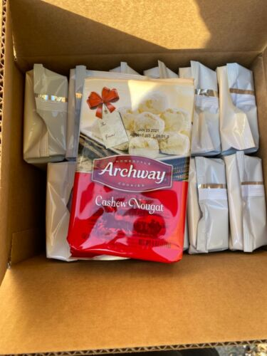 Archway Cashew Nougat Holiday Cookies 12-5oz Boxes