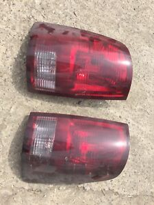 RAM smoked tail lights