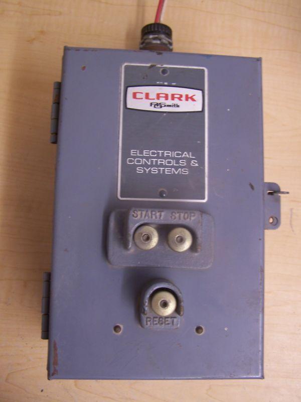 AOSMITH  CLARK CY Relay Motor Starter Enclosure Bul6013