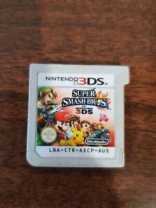 3DS Game (no case) Super Smash Bros