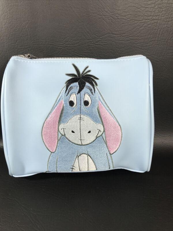 NEW! Loungefly Disney Winnie The Pooh Eeyore Cosmetic Makeup Case HTF!