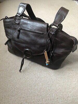 Hidesign By Radley Brown Leather Shoulder Bag