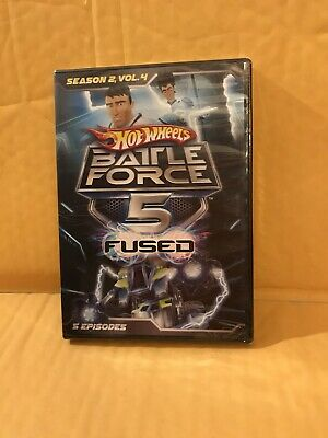 Hot Wheels, Battle Force 5 Fused, Season 2 Vol 4 (DVD), NIB
