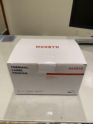 Usb Label Printer Munbyn Ups 4 6 Thermal Shipping Label Address Postage Printer