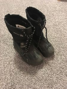 Kamik winter boots. size 10 (toddler)