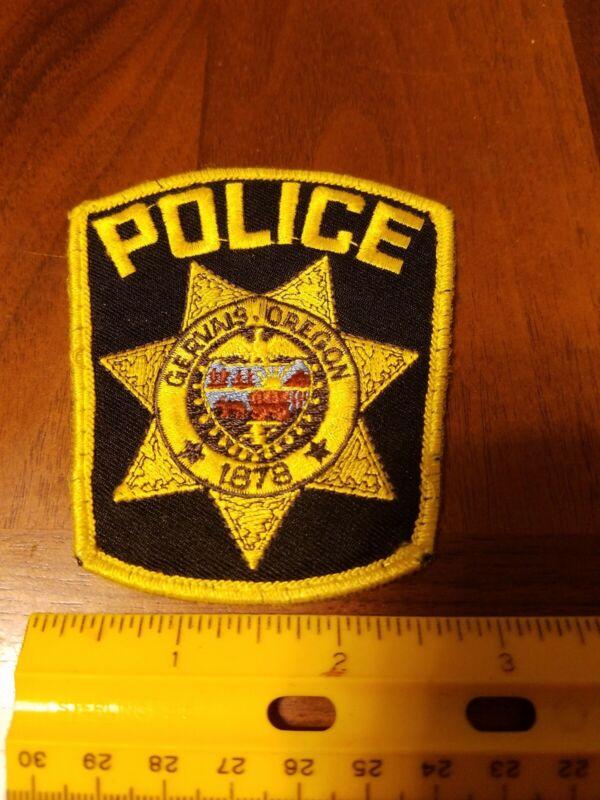 Oregon Gervais Police Department Shoulder Patch